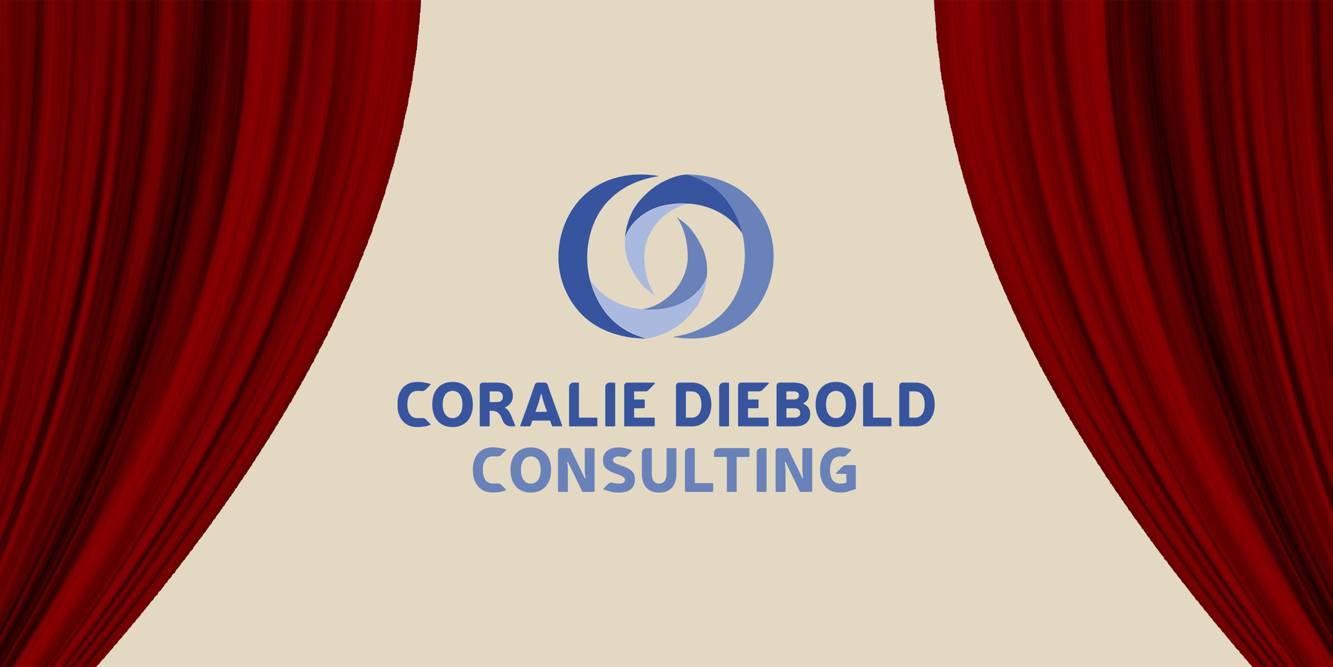 Une nouvelle identité visuelle pour Coralie Diebold Consulting